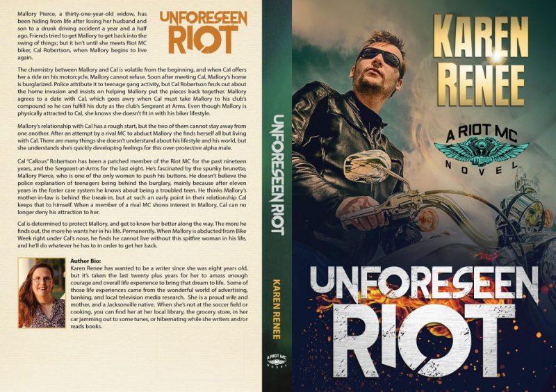 Unforseen Riot paperback-01-01