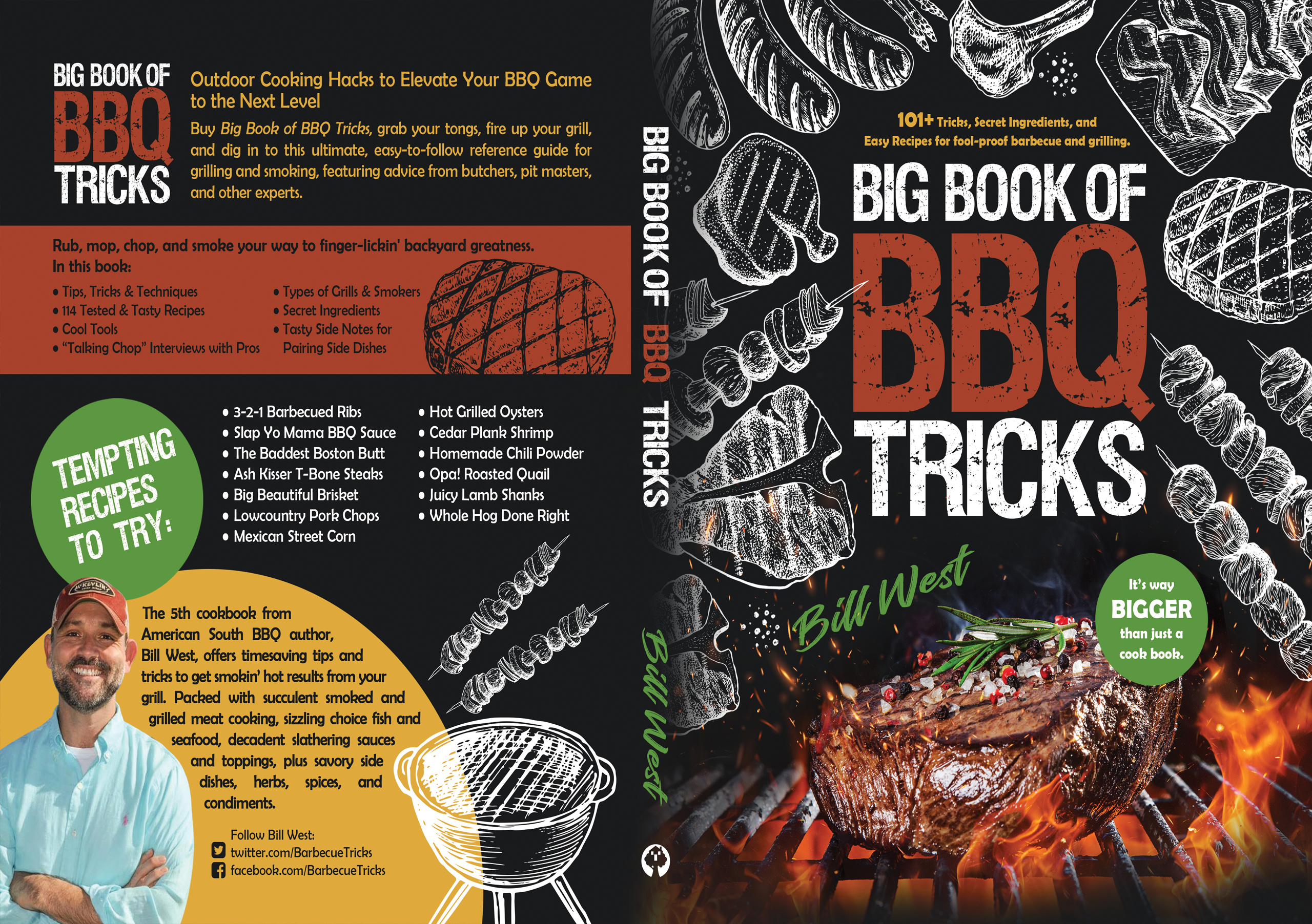 Big Book of BBQ Tricks paperback