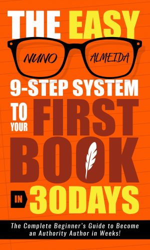 The Easy 9-Step System to Your First BookSMALL
